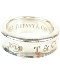 Tiffany & Co. - Pre-owned Tiffany 1837 Silver Ring - Lyst