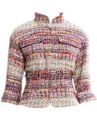 Chanel Multicolour Tweed Jacket