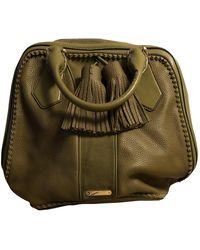 Burberry Leder Handtaschen - Grün