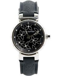 Louis Vuitton - Pre-owned Tambour Watch - Lyst