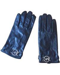 Michael Kors Leder Handschuhe - Mehrfarbig