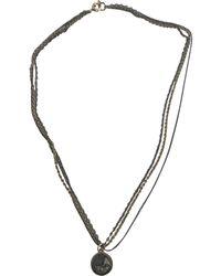 Marc By Marc Jacobs Multicolour Metal Necklace