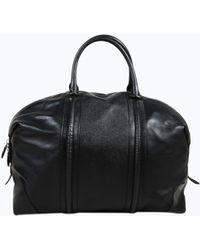 Givenchy - Pre-owned Lucrezia Black Leather Travel Bags - Lyst
