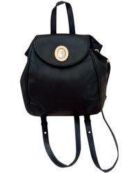 Dior Leather Backpack - Black