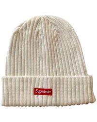 Supreme Hüte Mützen - Weiß