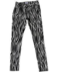 Claudie Pierlot Multicolor Cotton - Elasthane Jeans - Black