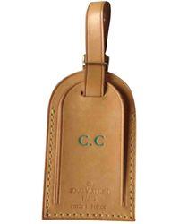 Louis Vuitton Piccola pelletteria Porte adresse in Pelle - Neutro
