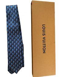 Louis Vuitton Seide Krawatten - Blau