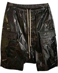 Rick Owens Drkshdw Bermudas jeans - Schwarz