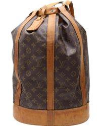 Louis Vuitton   Randonnée Cloth Backpack   Lyst