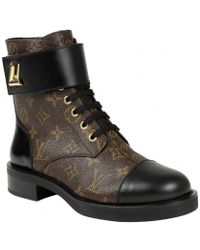 9bfd5167c5af Lyst - Women s Louis Vuitton Ankle boots On Sale