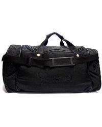 Versace Black Polyester Travel Bag