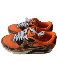 Nike Air Max 90 'orange Duck Camo' Shoes - Size 4