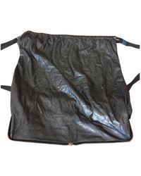 Lanvin Leather Backpack - Black