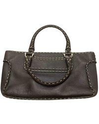 Celine Boogie Leder Handtaschen - Braun