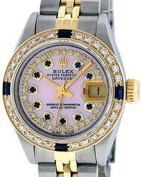 Rolex Lady Datejust 26mm Uhren - Mehrfarbig