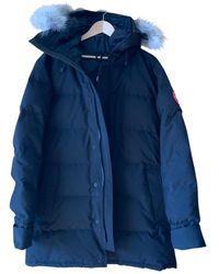 Canada Goose Mantel Polyester Schwarz - Mehrfarbig