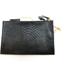 Celine Pre-owned - Black Exotic leathers Handbag Trio LKR513aMJG