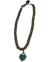 Tiffany & Co. Braccialo in argento argentato Return to Tiffany - Multicolore