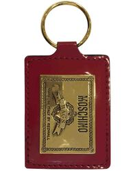 Moschino \n Red Leather Purse Wallet & Case