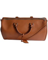 Loewe Leather 48h Bag - Brown