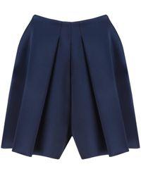 Céline Shorts in poliestere blu