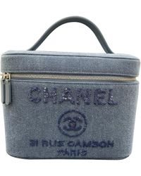 Chanel Blue Denim - Jeans Handbag