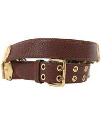 7c2c6c7358817 Women's Miu Miu Belts Online Sale - Lyst