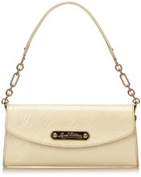 Louis Vuitton | Pre-owned Eva Patent Leather Handbag | Lyst