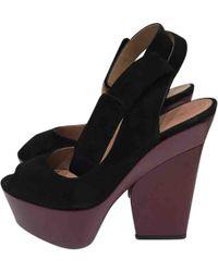 Celine Pre-owned Sandals - Black