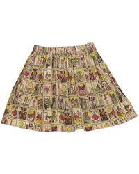 Antipodium Multicolor Cotton Skirt