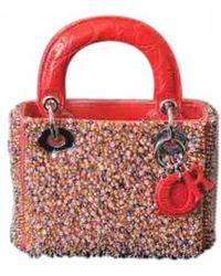 Dior - Lady Silk Handbag - Lyst