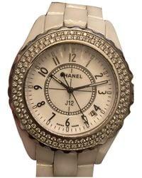 Chanel Reloj J12 Quartz de Cerámica - Blanco