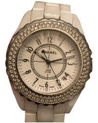 Chanel J12 Quartz Keramik Uhren - Weiß