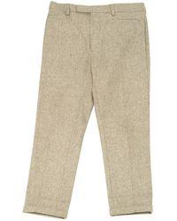 Dior - Wool Carot Pants - Lyst