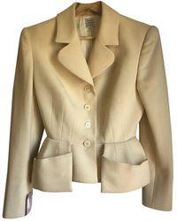Hervé Léger Wool Suit Jacket - Multicolour