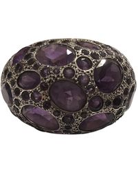 Pomellato Tabou Purple Yellow Gold Ring