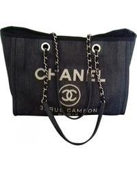 Chanel Deauville Handtaschen - Mehrfarbig