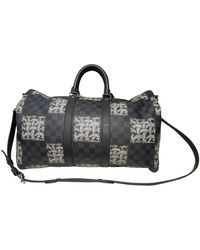 Louis Vuitton Keepall Cloth Travel Bag - Multicolour