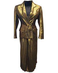 Jean Paul Gaultier Skirt Suit - Multicolor
