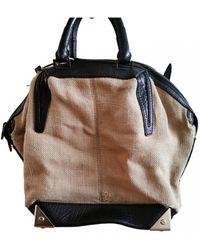 Alexander Wang Emile Cloth Clutch Bag - Natural