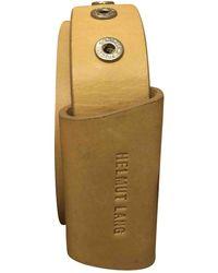 Helmut Lang Leather Belt - Multicolor