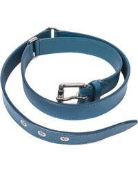 Louis Vuitton - Ceinture Trio Cuir Pi Bleu Cyan T 85 ; - Lyst