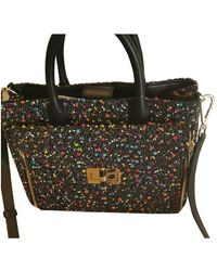 Diane von Furstenberg Tweed Handbag - Multicolor