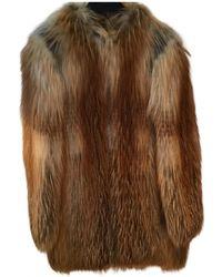 Emilio Pucci Fox Coat - Metallic