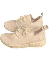 adidas Nmd Leinen Sneakers - Weiß