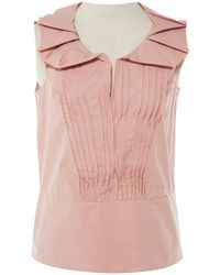 Marni - Pink Cotton Top - Lyst