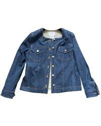 Chanel Vintage Blue Denim - Jeans Jacket