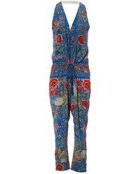 Roberto Cavalli - Pre-owned Silk Jumpsuit - Lyst