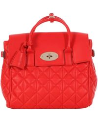 Mulberry \n Red Leather Handbag